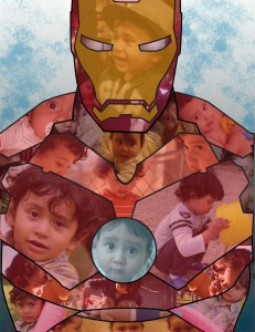 Iron Man - Gift Collage